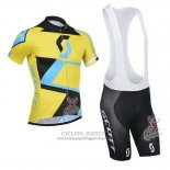 2014 Jersey Scott Black And Yellow