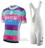 2017 Jersey Bianchi Milano Aviolo Red
