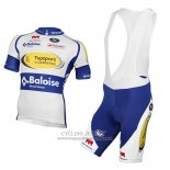 2017 Jersey Sport Vlaanderen Baloise White And Yellow