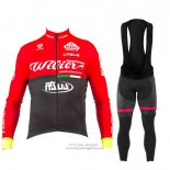 2017 Jersey Wieiev Long Sleeve Red