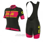 2017 Jersey Women ALE R-EV1 Master Black And Red