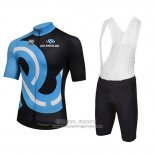 2018 Jersey Bici Amore Mio Black and Blue