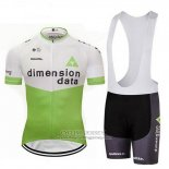 2018 Jersey Dimension Data White and Green