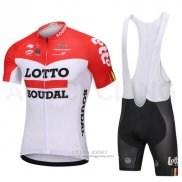 2018 Jersey Lotto Soudal White and Red