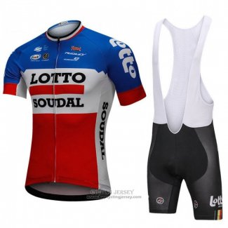 2018 Jersey Lotto Soudal Blue and Red