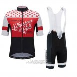 2018 Jersey Morvelo Red and Black