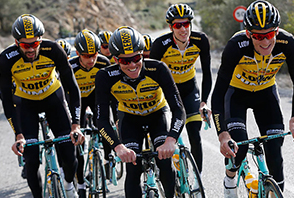 Lotto NL Jumbo Cycling Jersey