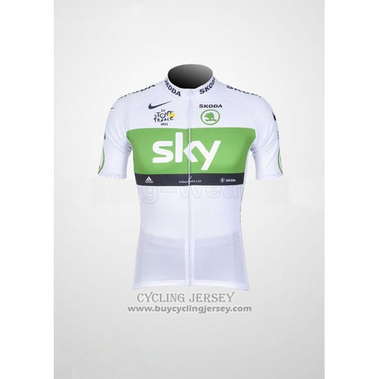 2012 Jersey Sky Lider White And Green