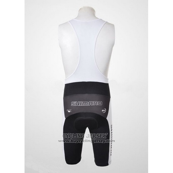2010 Jersey Shimano Gray And Black