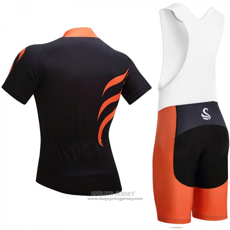 2018 Jersey Snovaky Black and Orange