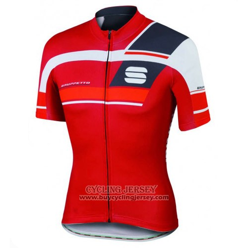 2016 Jersey Sportful Black And Red