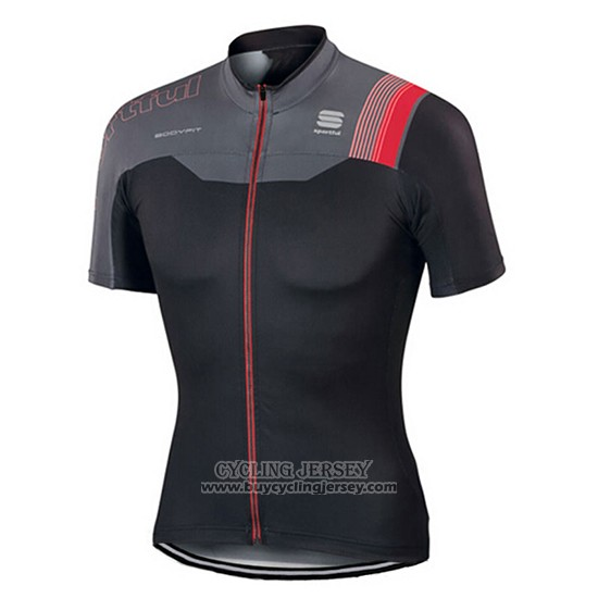2017 Jersey Sportful Black And Red