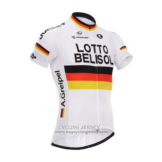 2014 Jersey Lotto Belisol Campion Germania