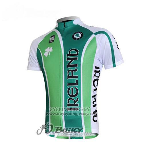 2012 Jersey Ireland White And Green