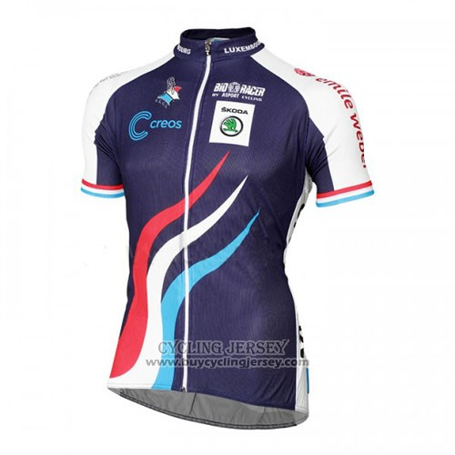 2016 Jersey Luxembourg Blue And White