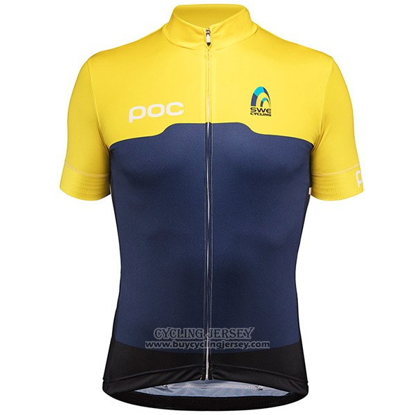 2017 Jersey Sweden Yellow And Blue