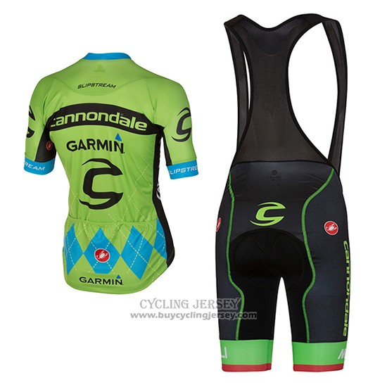 2017 Jersey Cannondale Green And Blue