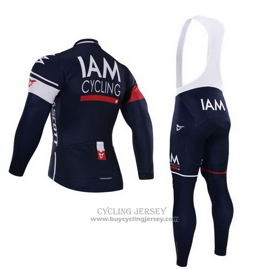 2015 Jersey IAM Long Sleeve Blue