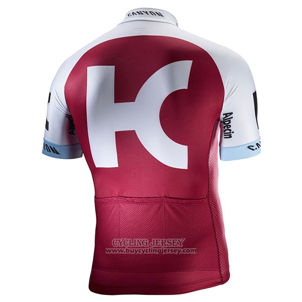2017 Jersey Katusha Alpecin Red And White