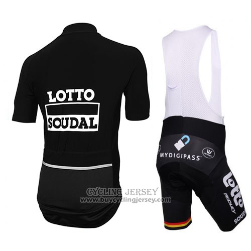 2016 Jersey Lotto Soudal Black