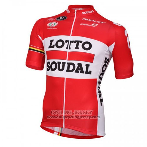 2016 Jersey Lotto Soudal White And Red
