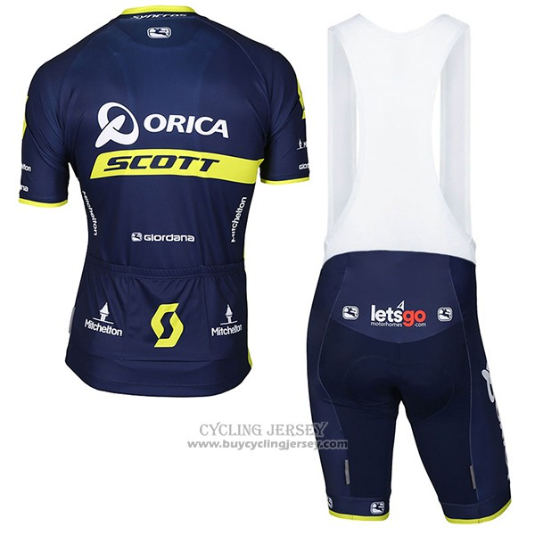 2017 Jersey Orica Scott Blue