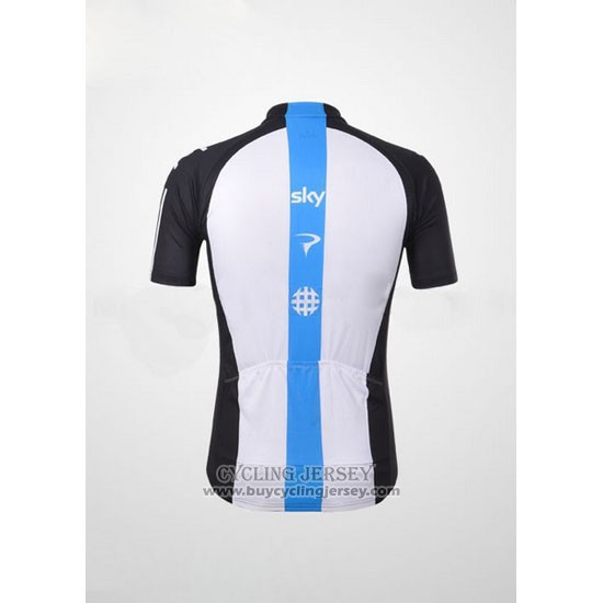 2012 Jersey Sky Black And Sky Blue