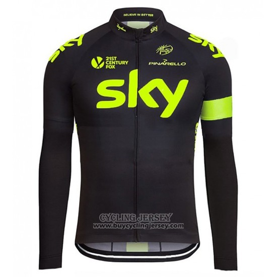 2016 Jersey Sky Long Sleeve Green And Black