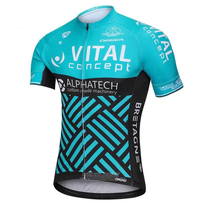 2018 Jersey Vital Concept Alphatech Blue and Black
