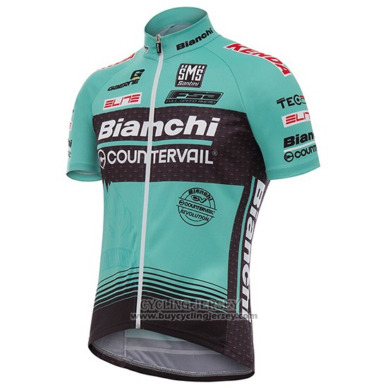 2017 Jersey Bianchi Countervail Green