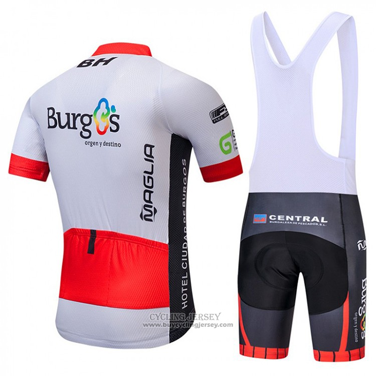 2018 Jersey Burgos BH White and Red