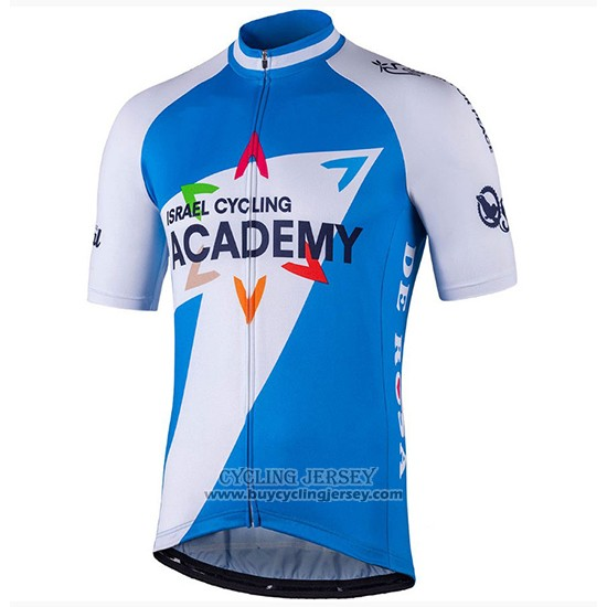 2018 Jersey Israel Cycling Academy White and Blue