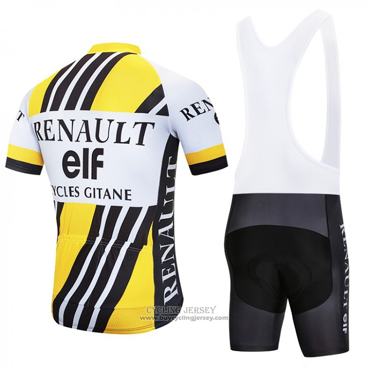 2018 Jersey Renaul Yellow and White