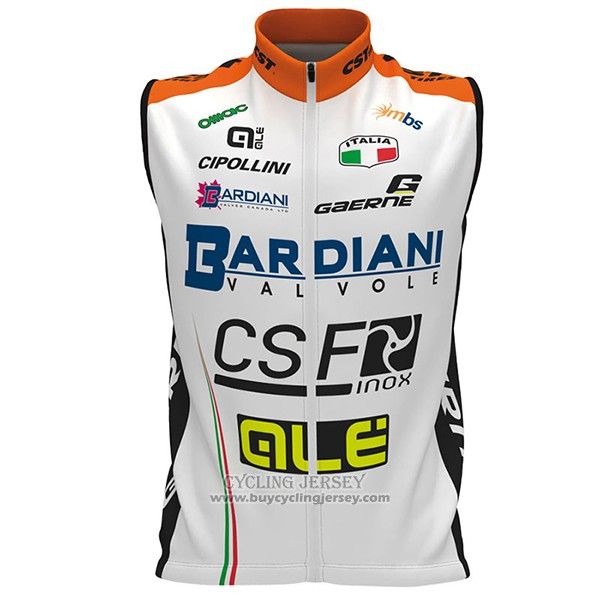 2017 Wind Vest CSF White And Orange