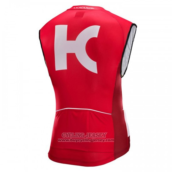 2016 Wind Vest Katusha White And Red