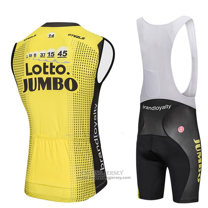 2018 Wind Vest Lotto NL Jumbo Yellow