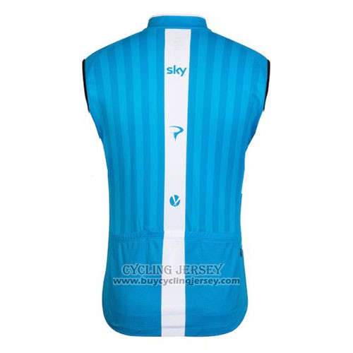 2016 Wind Vest Sky White And Black