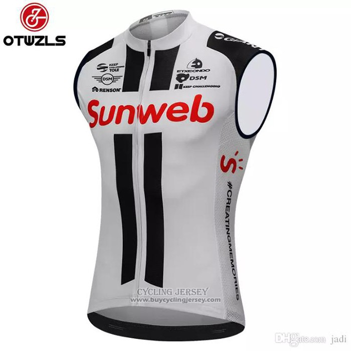 2018 Wind Vest Sunweb Gray and Black