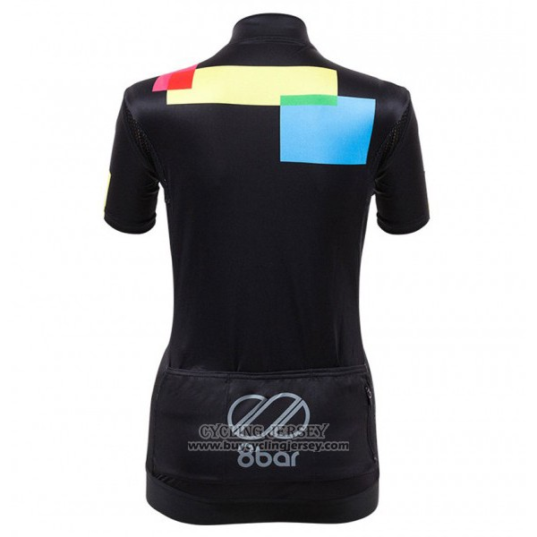 2017 Jersey Women Equipo 8bar Black