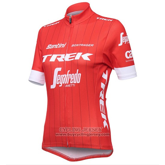 2018 Jersey Women Trek Segafredo Red